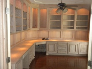 hand created kitchen cabinets