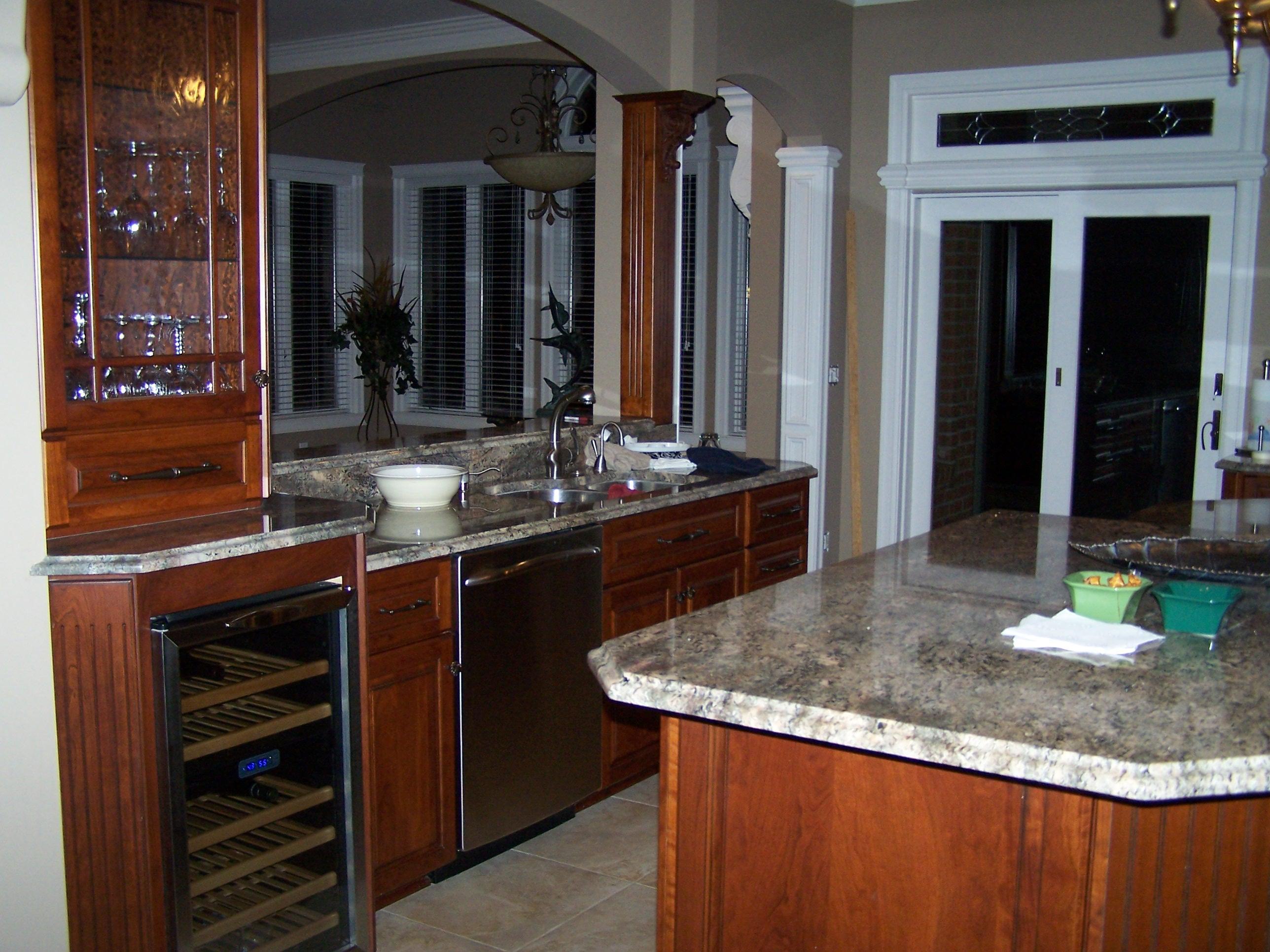 Hand Created Kitchen Cabinets Kitchen 1